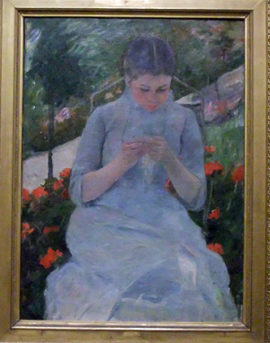 Cassatt 1880 Jeune fille au jardin.jpg